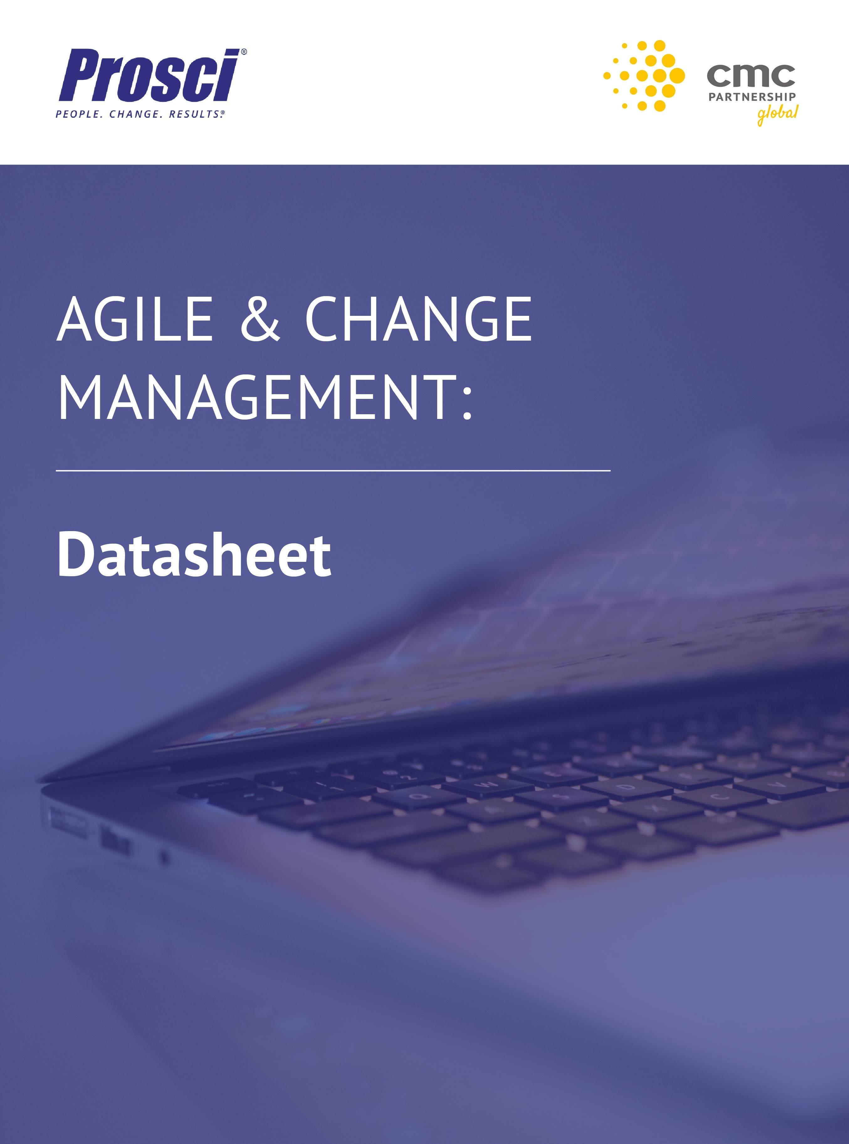 Landing Page Image - Agile & Change Management Datasheet