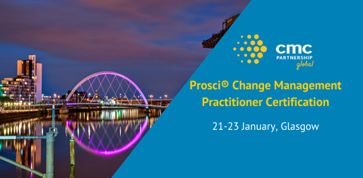 Prosci® Change Management Practitioner Certification- Glasgow-1