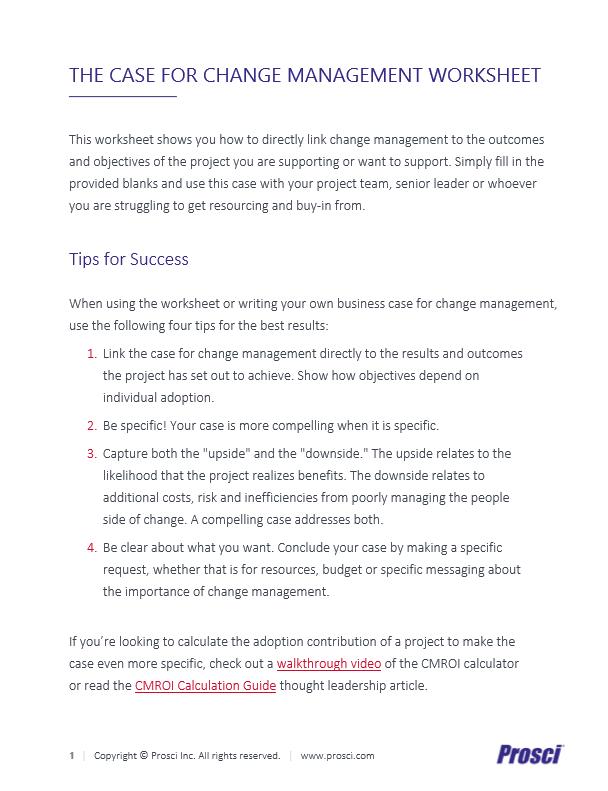 UK - Case for Change Management Landing Page Image